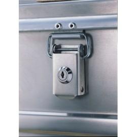 Jeu de serrures pour caisses et coffres aluminium