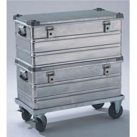 Chariots pour caisses et coffres aluminium