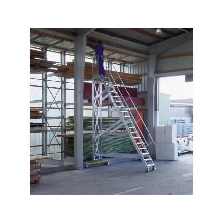 Escalier roulant incliné à 60° largeur utile 600 mm