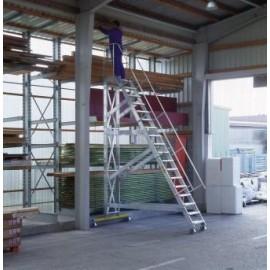Escalier roulant incliné à 60° largeur utile 1000 mm