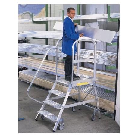 Plate-forme roulante aluminium simple accès