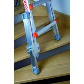 Rallonge pied réglable jusqu'à 375 mm pour échelles
