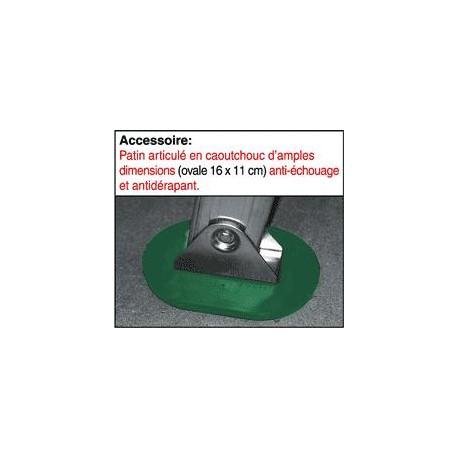 Patin articulé caouchouc anti-échouage et antidérapant