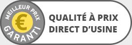 Qualité à prix Direct d'Usine